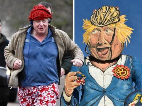 Massive 36ft Boris Johnson effigy will go up in flames for Bonfire Night