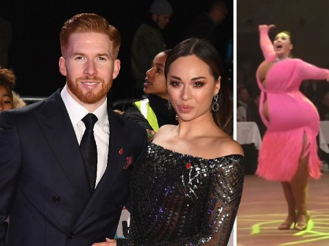 Strictly's Katya and Neil Jones criticised for 'disrespectful and shameful' dance in fat suits from throwback competition