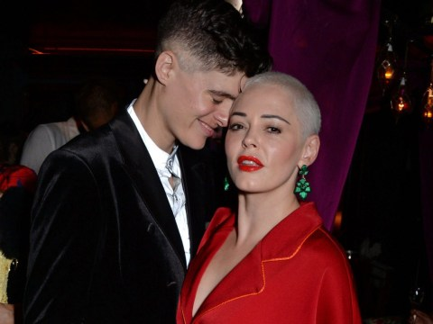Rose McGowan's partner Rain Dove attempts to save man's life with CPR following car crash