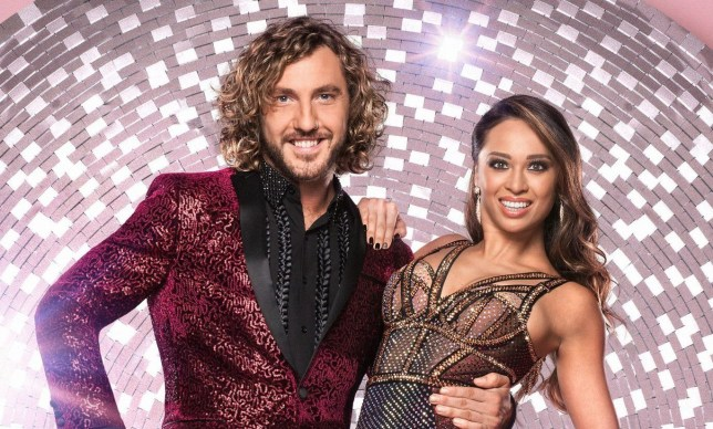WARNING: Embargoed for publication until 00:00:01 on 18/09/2018 - Programme Name: Strictly Come Dancing 2018 - TX: 08/09/2018 - Episode: n/a (No. 1) - Picture Shows: ***EMBARGOED UNTIL 18th SEPT 2018*** Seann Walsh, Katya Jones - (C) BBC - Photographer: Ray Burmiston