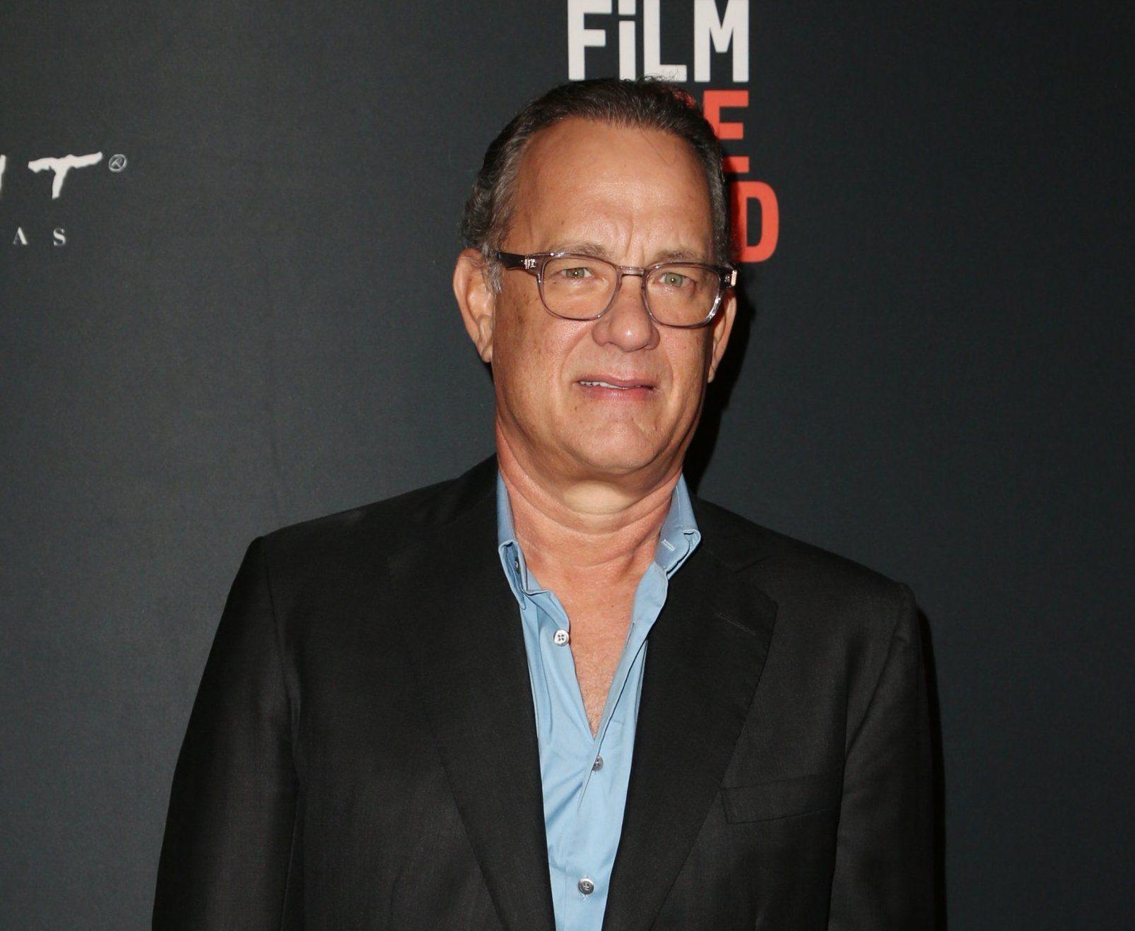Mandatory Credit: Photo by MediaPunch/REX (9889479bw) Tom Hanks 'Simple Wedding' film premiere, Los Angeles Film Festival, USA - 21 Sep 2018
