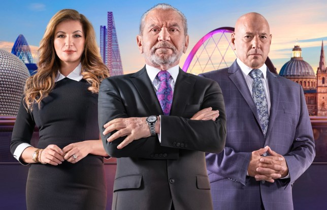 Television programme :The Apprentice - TX: n/a - Episode: n/a (No. n/a) - Picture Shows: Baroness Brady, Lord Sugar, Claude Littner - (C) Boundless Taylor Herring - Photographer: Jim Marks