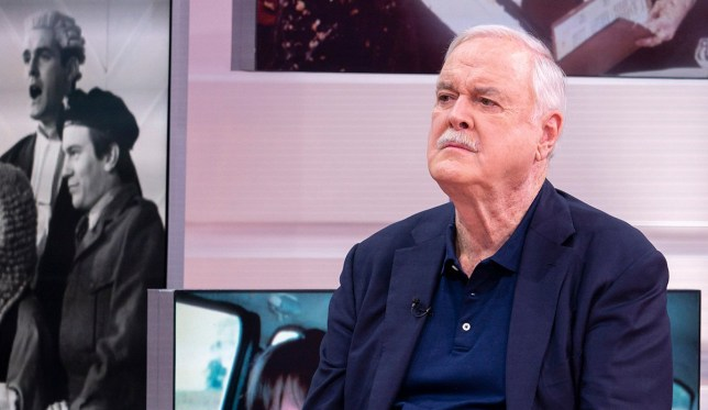 EDITORIAL USE ONLY. NO MERCHANDISING Mandatory Credit: Photo by S Meddle/ITV/REX (9899330u) John Cleese 'Good Morning Britain' TV show, London, UK - 28 Sep 2018 In an exclusive interview, one of our most celebrated stars talks about his incredible career, the countdown to Brexit and why he's so fed up, he's leaving Britain. But what will he miss and what three things will he not be able to live without?