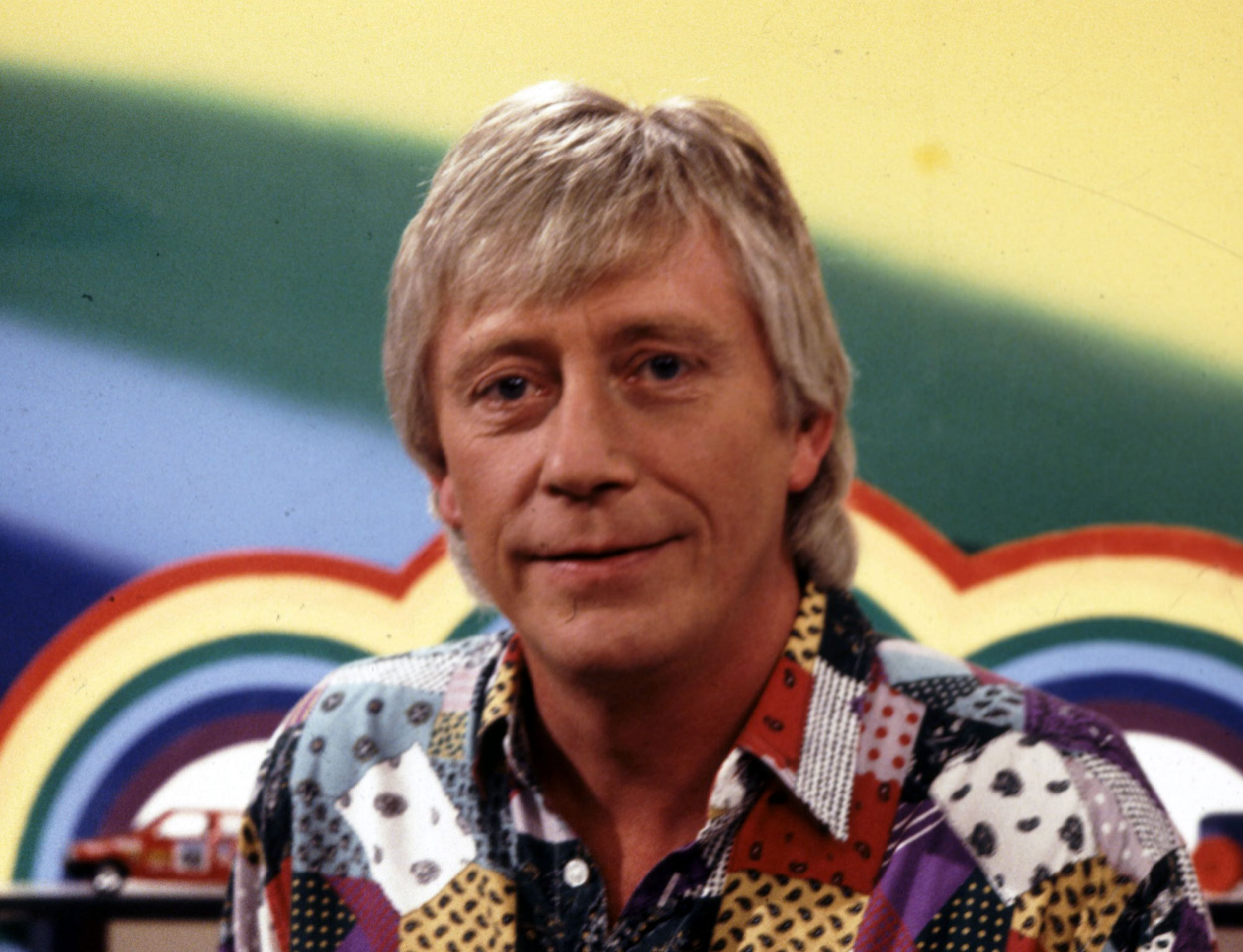 Editorial use only Mandatory Credit: Photo by FremantleMedia Ltd/REX/Shutterstock (839314fo) 'Rainbow' - Geoffrey Hayes Thames TV Archive