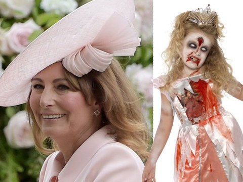 Kate Middleton's family 'sells children's Halloween outfit of zombie princess' to dismay of Diana fans