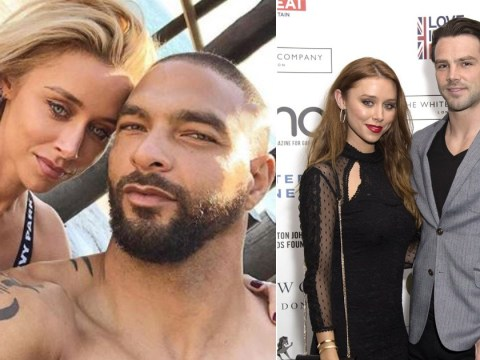 Una Healy forgets marriage woes as she makes waves with male model in California