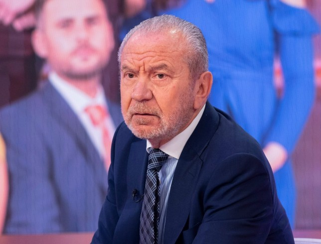 EDITORIAL USE ONLY. NO MERCHANDISING Mandatory Credit: Photo by Ken McKay/ITV/REX (9908442ck) Lord Alan Sugar 'Good Morning Britain' TV show, London, UK - 02 Oct 2018