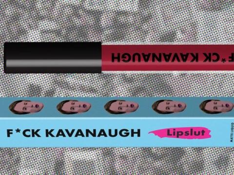 F*** Kavanaugh lipstick is raising money for sexual assault survivors