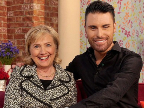 Forget Big Brother! Rylan Clark-Neal reveals Hillary Clinton offered him a job – yes, really
