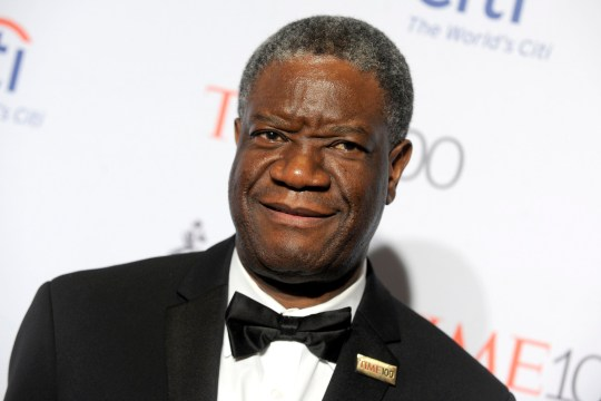 Denis Mukwege at the Time 100 Gala 2016 at the Lincoln Center. New York, April 26, 2016./picture alliance