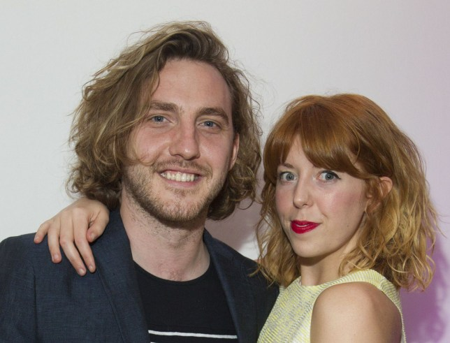Mandatory Credit: Photo by Dan Wooller/REX/Shutterstock (4795875ae) Seann Walsh and Rebecca Humphries (The PA) 'Temple' play afterparty, London, Britain - 27 May 2015