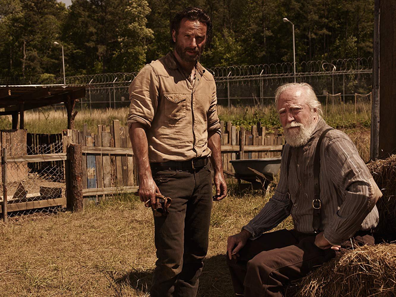 Walking Dead's scott Wilson dies Credit: AMC