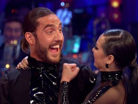 Seann Walsh and Katya Jones will be facing the judges on Strictly Come Dancing this weekend despite that kiss