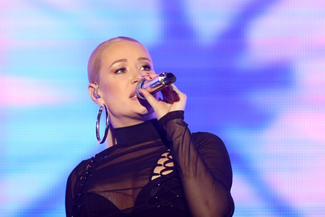 ISTANBUL, TURKEY - OCTOBER 21: Australian singer Iggy Azalea performs during her concert in Istanbul, Turkey on October 21, 2017. (Photo by Muhammed Enes Yildirim/Anadolu Agency/Getty Images)