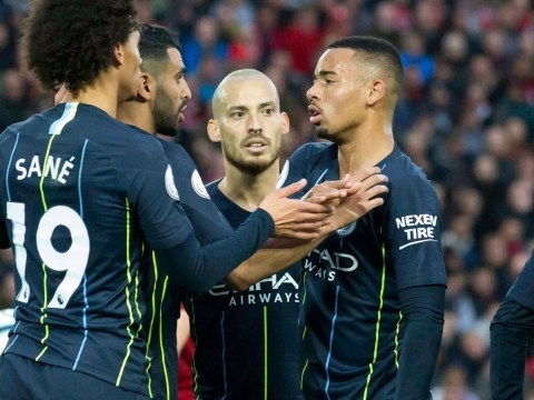 Gabriel Jesus 'not happy' with Pep Guardiola's penalty decision in Liverpool draw