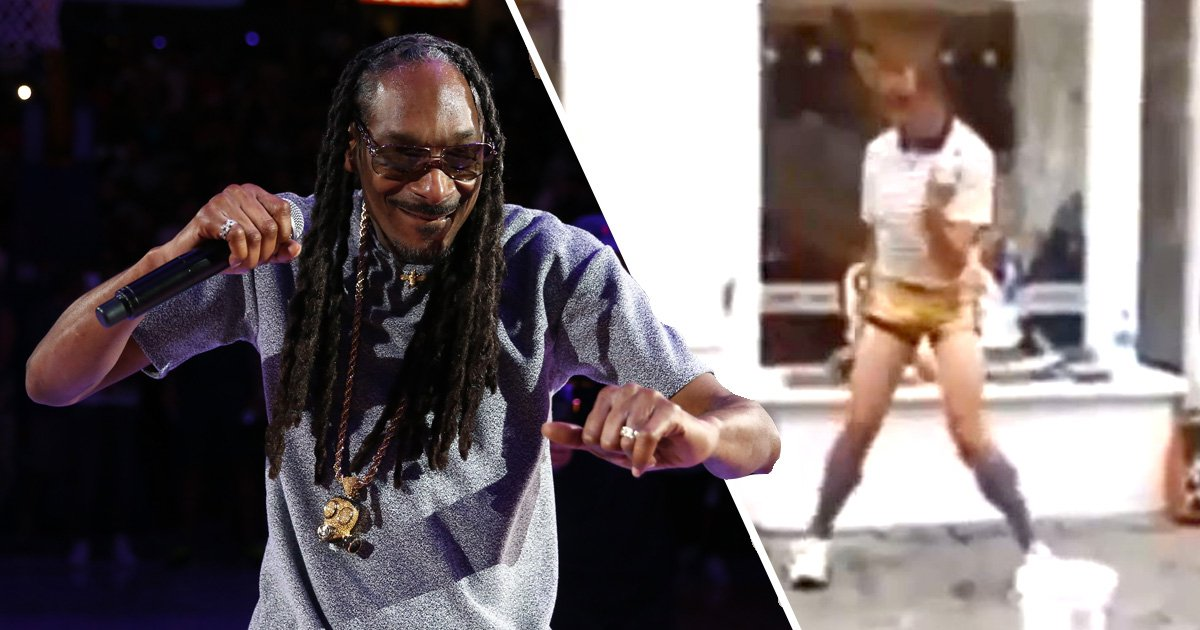 Snoop Dogg divides fans with video of Cornwall busker