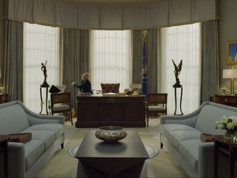 How is Kevin Spacey written out of season 6's House of Cards and when is it set?