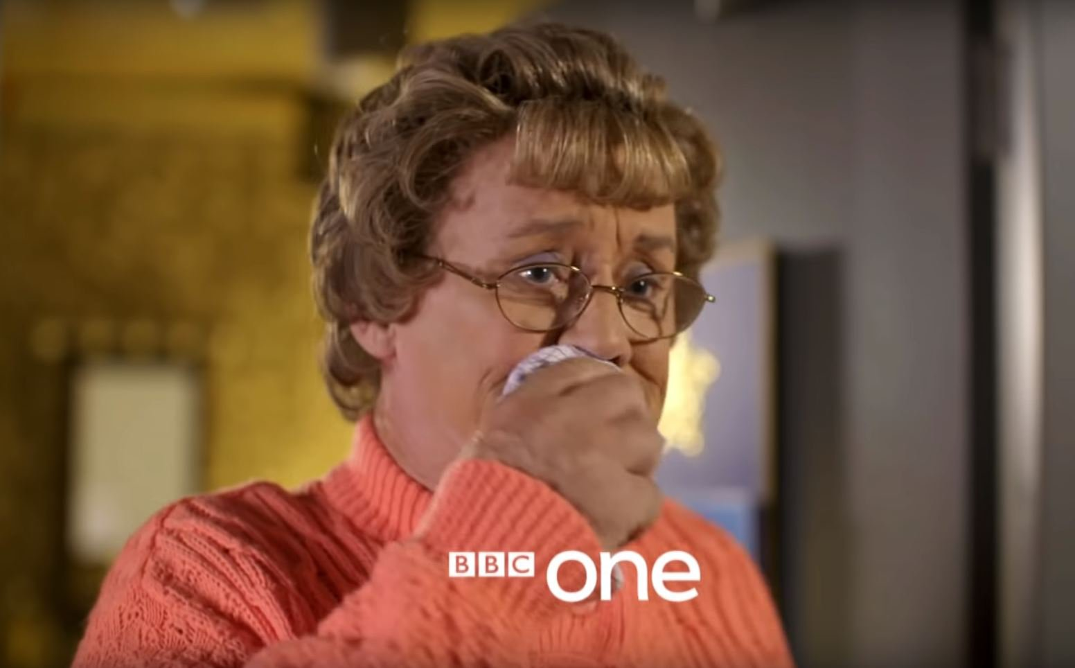 Picture: BBC Mrs Brown is back for a new panel show