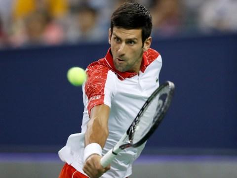 Novak Djokovic begins world No. 1 charge as Roger Federer learns first Shanghai opponent