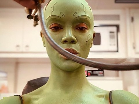 Zoe Saldana continues to tease Gamora Avengers 4 return with spicy image from set