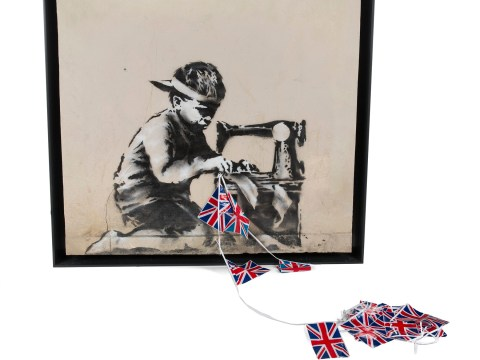 Gallery can't guarantee latest Banksy art 'will shred or explode' when it goes under the hammer