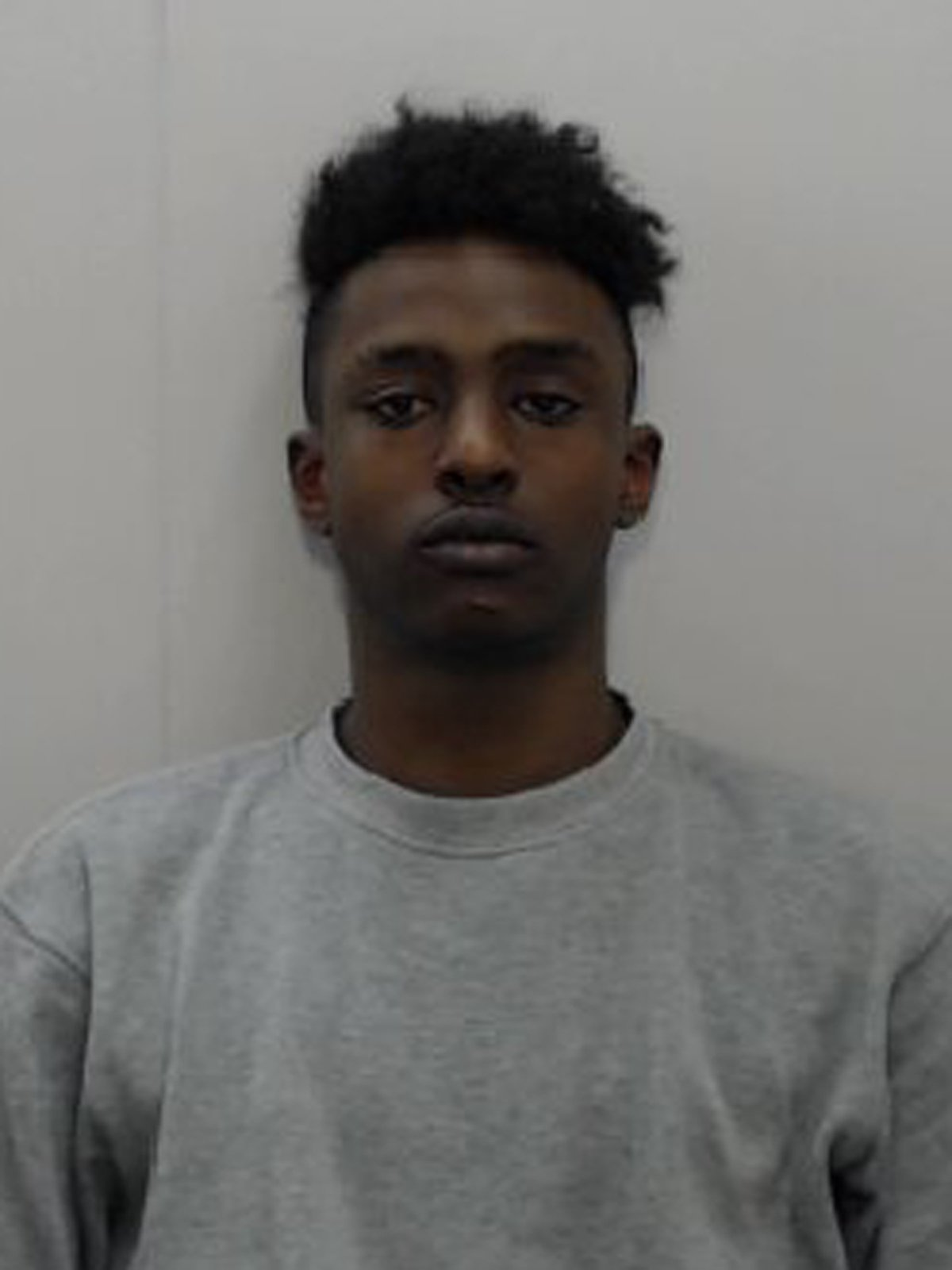 A young man has been found guilty of murder for stabbing to death a newlywed he thought had mugged his brother. Vengeful Mohamed Jama, 20, ran off laughing after knifing his victim, a 'popular and polite' bakery worker who had just left Friday prayers at his mosque in Oldham, Manchester. Mohammed Nabeel Hassan, 22, was left to die on a grass verge as Mohamed Jama fled following the violent 15-second confrontation. On their fifth day of deliberations, today (Wednesday) a jury unanimously found Jama guilty of murder following a four-week trial at Manchester Crown Court. CAPTION: Mohamed Jama