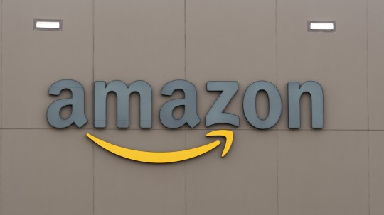 September 12, 2018 - Balzac, Alberta, Canada - An Amazon sign and logo at one of the company's fulfillment centers. (Credit Image: ?? Bayne Stanley/ZUMA Wire)