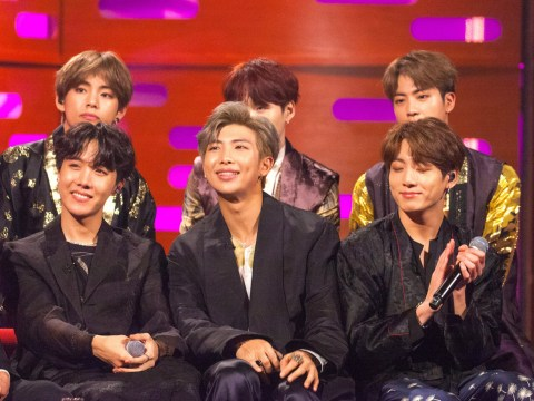 What time is the Graham Norton Show with BTS on tonight?