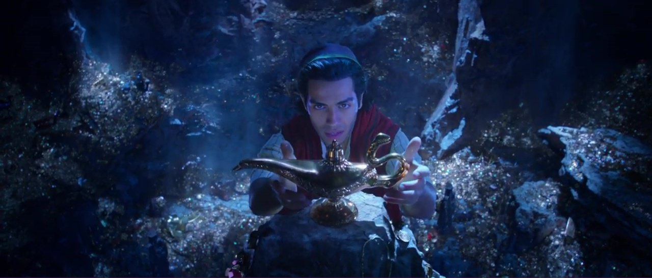 When is the Aladdin live-action release date and who is in the cast as the trailer is revealed?