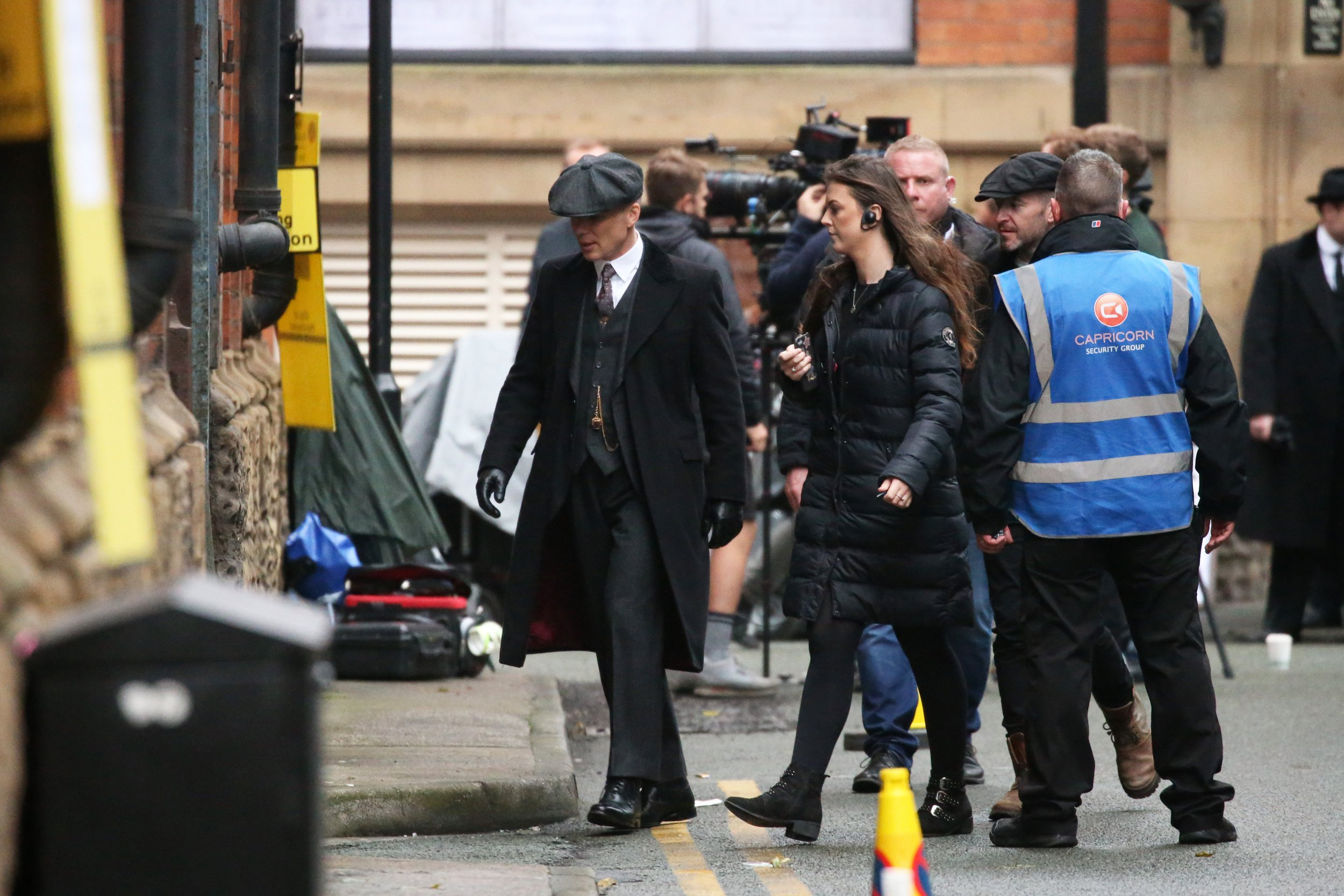 Cillian Murphy Returns As Thomas Shelby On The Set of Peaky Blinders Series 5. Pictured: Ref: SPL5032754 121018 NON-EXCLUSIVE Picture by: SplashNews.com Splash News and Pictures Los Angeles: 310-821-2666 New York: 212-619-2666 London: 0207 644 7656 Milan: +39 02 4399 8577 Sydney: +61 02 9240 7700 photodesk@splashnews.com World Rights,