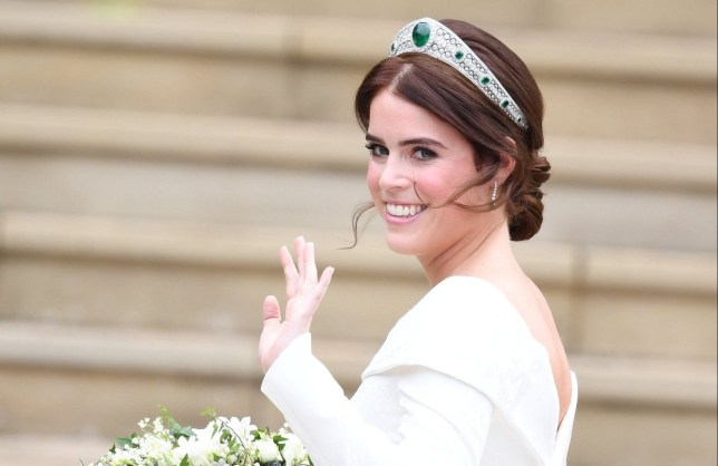 The Wedding of Princess Eugenie of York and Mr Jack Brooksbank at St George's Chapel, Windsor, Berkshire, UK, on the 12th October 2018. Picture by James Whatling