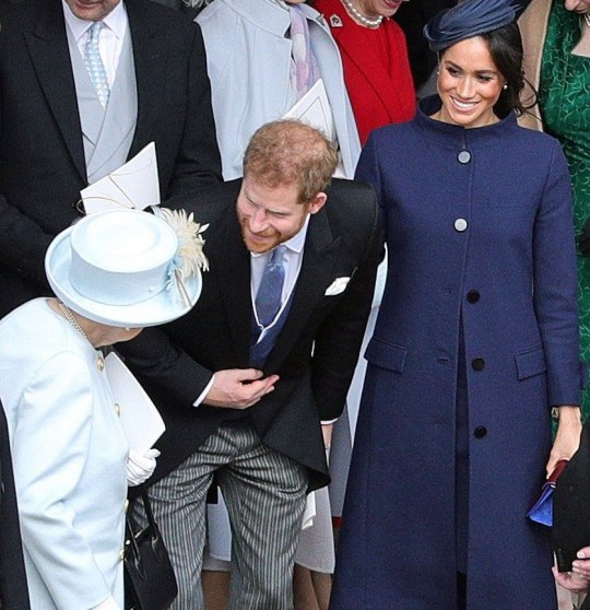 Did Meghan And Harry Announce Royal Baby News At Eugenie's