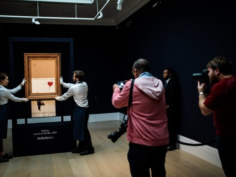 The 'shredded Banksy' is going up on display at Sotheby's this weekend