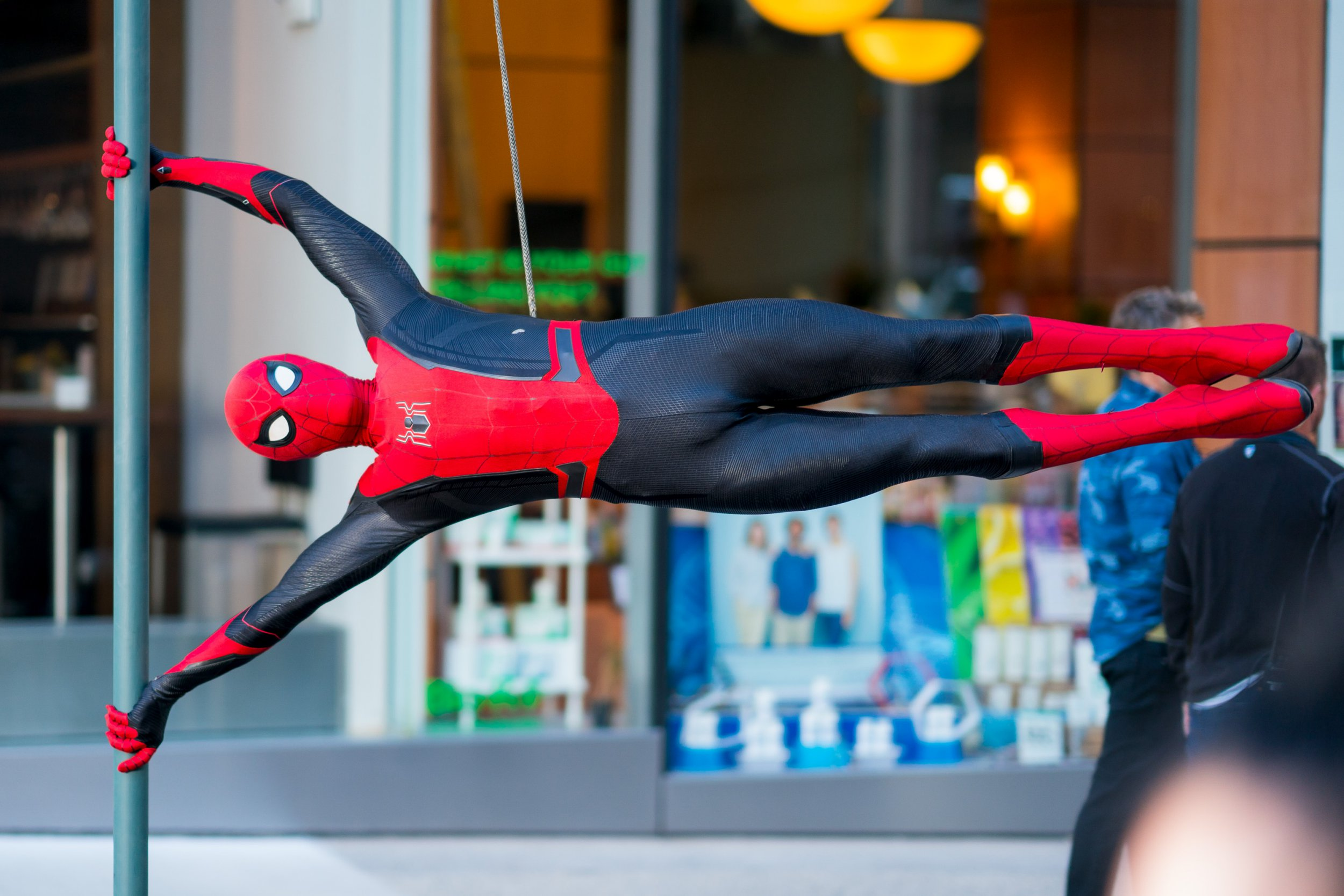 Tom Holland confirms Spider-Man's new suit as Far From Home wraps