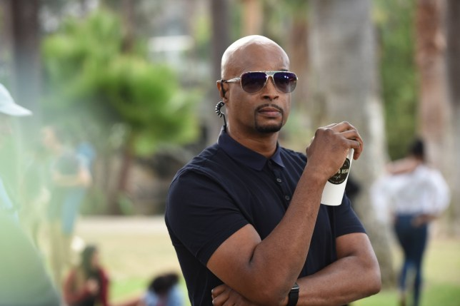 """Editorial use only. No book cover usage. Mandatory Credit: Photo by 20th Century Fox/Kobal/REX/Shutterstock (9705574bs) Damon Wayans """"Lethal Weapon"""" (Season 2) TV Series - 2018"""