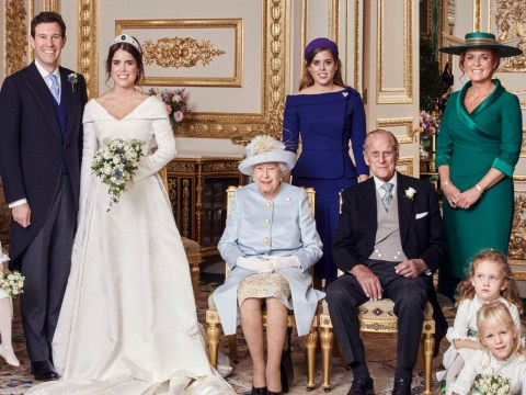 Prince Philip and Fergie put feud aside to pose for first photo in 26 years