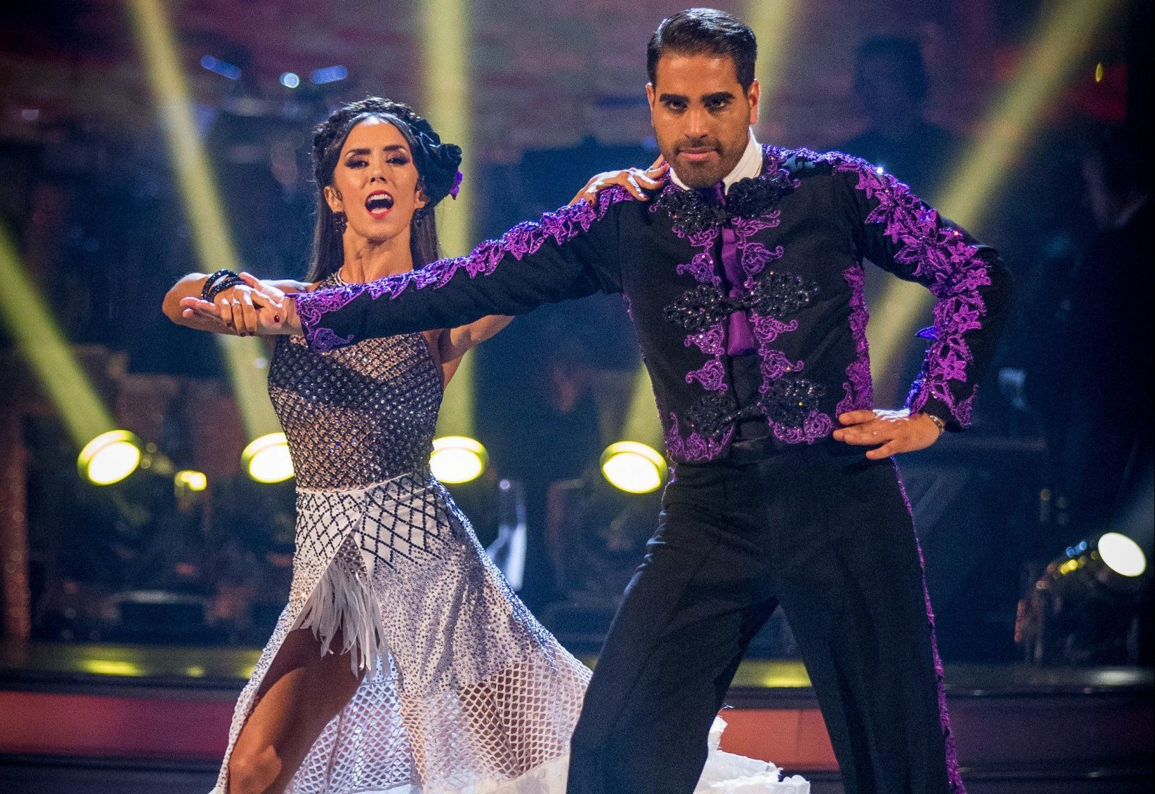 For use in UK, Ireland or Benelux countries only Undated BBC handout photo of Janette Manrara and Dr Ranj Singh. PRESS ASSOCIATION Photo. Issue date: Saturday October 13, 2018. See PA story SHOWBIZ Strictly. Photo credit should read: Guy Levy/BBC/PA Wire NOTE TO EDITORS: Not for use more than 21 days after issue. You may use this picture without charge only for the purpose of publicising or reporting on current BBC programming, personnel or other BBC output or activity within 21 days of issue. Any use after that time MUST be cleared through BBC Picture Publicity. Please credit the image to the BBC and any named photographer or independent programme maker, as described in th