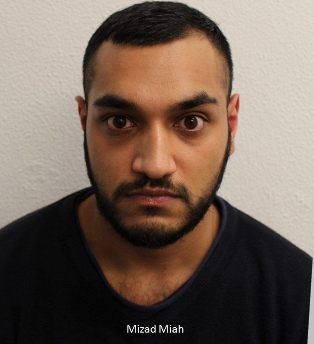 Two men who drugged a woman before sexually assaulting her have been sentenced to a total of 24 years? imprisonment. Mizad Miah, 24 (19.03.94), of Bethnal Green Road, Tower Hamlets, was sentenced to 13 years? imprisonment at Snaresbrook Crown Court on Friday, 12 October, after being found guilty on 11 September of rape, administering a substance with intent to overpower to allow sexual activity, and assault by penetration. Belal Ahmed, 24 (15.01.94), of Devas Street, Tower Hamlets, was sentenced to 11 years? imprisonment at the same court after being found guilty on 11 September of administering a substance with intent to overpower to allow sexual activity, and assault by penetration. The court heard how at around 21:45hrs on Thursday, 9 November 2017, the victim - a 21-year-old woman - was picked up in a car in Bethnal Green, Tower Hamlets, by Ahmed and Miah, who were both known to her. They had promised to show her around a flat she was interested in renting. Instead, Miah drove them to an off-licence shop where the two men purchased alcohol while the victim waited in the car. Miah got back into the driver?s seat and Ahmed got in the back next to the victim and forced her to drink the alcohol by holding her nose. Shortly after this the victim lost consciousness. She was then sexually assaulted by both men and raped by Miah. When she regained consciousness, she was sat on the side of the road outside of the vehicle with just her vest and underwear on. Miah and Ahmed were also outside of the car, laughing at the victim. The victim did not know how she ended up outside on the ground. They all then got back into the car. Miah drove them around various car parks to retrieve items of the victim?s clothing which had been discarded earlier by Miah and Ahmed during the sexual assaults. She was eventually dropped off at around 03:00hrs the following morning near Bow Creek, on Navigation Road, Tower Hamlets. She then made her way back to a friend?s house in the area. The vic