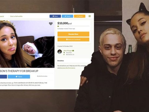 A Go Fund Me page for 'homeless' Pete Davidson is the weirdest thing to come out of his split from Ariana Grande