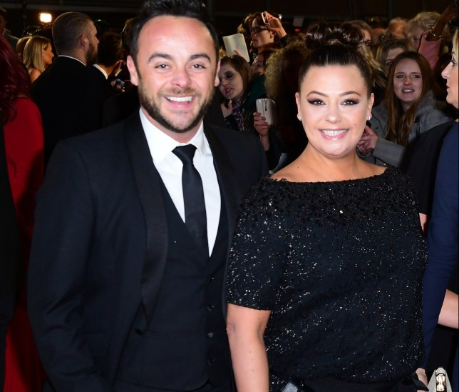 File photo dated 25/01/17 of Ant McPartlin and Lisa Armstrong at the National Television Awards. The couple are due to be divorced at a London court. PRESS ASSOCIATION Photo. Issue date: Tuesday October 16, 2018. See PA story SHOWBIZ McPartlin. Photo credit should read: Ian West/PA Wire