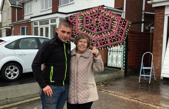 - Picture of Jon Horne with Pat one of his oldest customer. John has been repairing OAP's fences for free. TRIANGLE NEWS 0203 176 5581 // contact@trianglenews.co.uk By Chiara Giordano A FENCER has received almost 20,000 messages of support online after he offered to fix elderly people?s fences for free over winter. Caring Jon Horne set up his own fencing business after getting kicked out of school at the age of 13. The 22-year-old decided to help OAPs for free after witnessing them getting ripped off by rogue traders. *Full story filed via the wires*