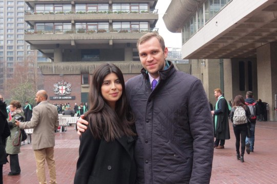 epa07097478 An undated handout photo made available by Daniela Tejada showing Durham University PhD student Matthew Hedges and his wife Daniela Tejada in London, Britain. Media reports on 16 October 2018 state that the United Arab Emirates government has charged Matthew Hedges with spying for the British government in the UAE. Matthew was detained on 05 May 2018 at Dubai Airport as he was leaving the country. Reports state that he would go on trial for spying and would appear in court in the week begining 22 October. Matthew Hedges denies all charges against him. EPA/DANIELA TEJADA / HANDOUT MANDATORY HANDOUT EDITORIAL USE ONLY/NO SALES