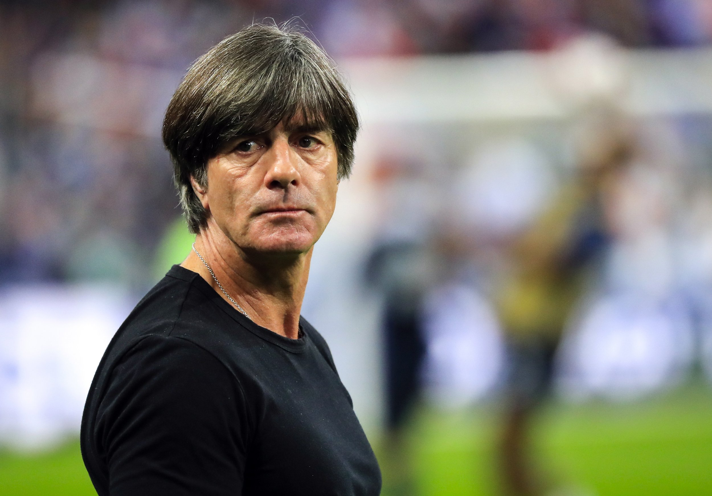 epa07098049 German's head coach Joachim Low prior the UEFA Nations League soccer match between France and Germany in Paris, France on 16 October 2018. EPA/Christophe Petit-Tesson