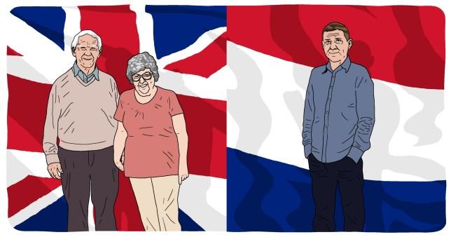 EU citizens who couldn't vote on Brexit Brexit flag vote parents EU citizen Dutch family Dave Anderson for Metro.co.uk