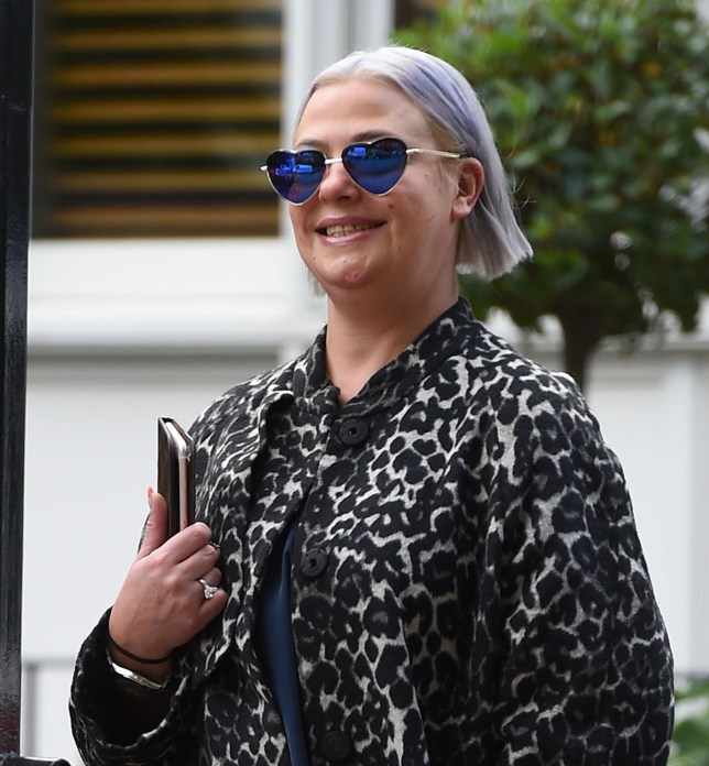 BGUK_1372809 - London, UNITED KINGDOM - After her 11 years of marriage and the well documented news of being granted a divorce, The estranged wife of the TV presenter Ant McPartlin, Lisa Armstrong is all smiles pictured out and about in London. Pictured: Lisa Armstrong BACKGRID UK 18 OCTOBER 2018 BYLINE MUST READ: ZED JAMESON / BACKGRID UK: +44 208 344 2007 / uksales@backgrid.com USA: +1 310 798 9111 / usasales@backgrid.com *UK Clients - Pictures Containing Children Please Pixelate Face Prior To Publication*