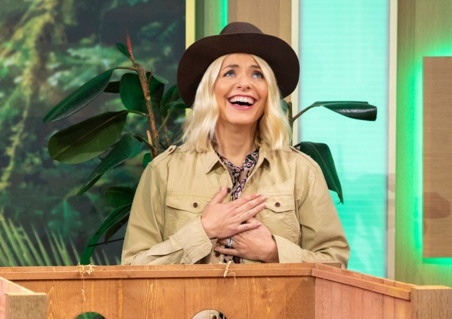 Editorial use only Mandatory Credit: Photo by Ken McKay/ITV/REX/Shutterstock (9937103ct) Holly Willoughby 'This Morning' TV show, London, UK - 18 Oct 2018