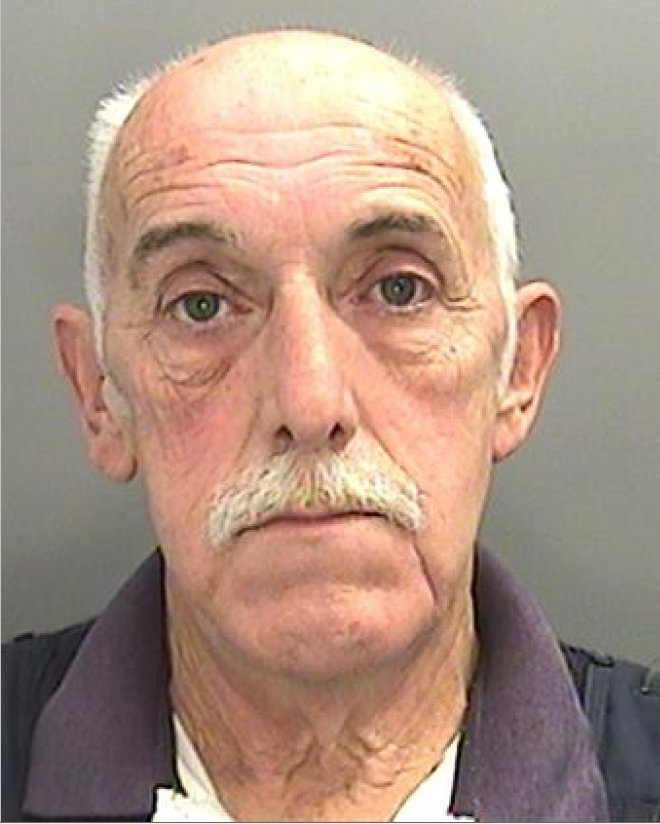 """SENTENCE TODAY - 18.10.18 A husband and wife - dubbed the """"Fred and Rose West"""" of a seaside town - have been jailed for raping a string of young girls. Evil wife Avril Griffiths, 61, groomed the victims for her husband Peter Griffiths, 65 (pictured) to rape. The couple were well known in the seaside town of Barry, South Wales, where they carried out multiple rapes together. Pictured here is their Barry home. ? WALES NEWS SERVICE"""