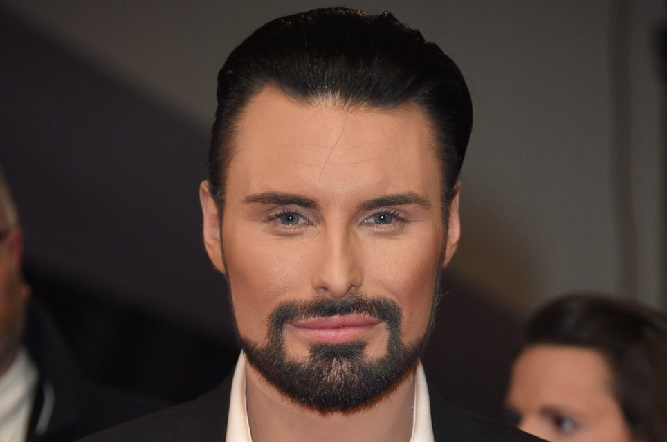 LONDON, ENGLAND - JANUARY 25: Rylan Clark-Neal attends the National Television Awards on January 25, 2017 in London, United Kingdom. (Photo by Anthony Harvey/Getty Images)