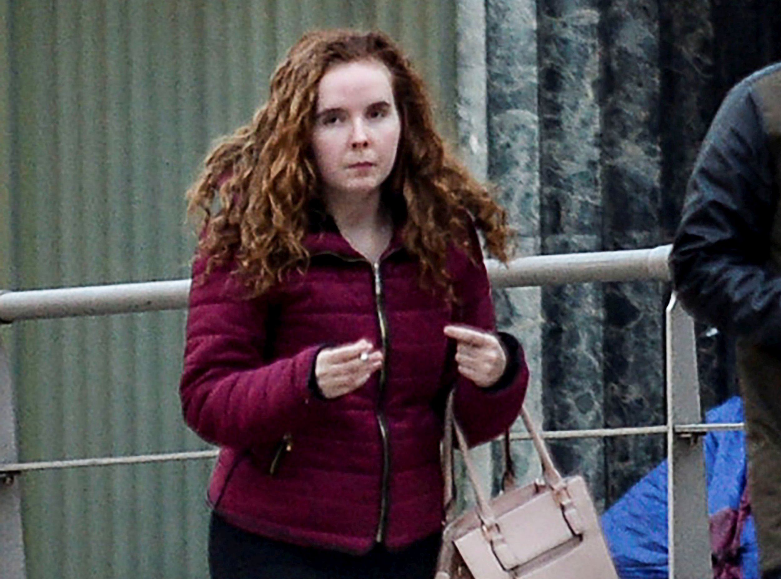 "Lauren Coyle, 19 arrives at Liverpool Crown Court this morning, October 19th, 2018 as the trial continues in the alleged manslaughter of her 19 month old daughter Ellie-May Minshull-Coyle. A toddler who died after being tied face-down in a ""cage"" bed experienced ""immense suffering"", a court has heard. Ellie-May Minshull-Coyle, aged 19 months, died last March in a flat she shared with her mother, stepfather and a lodger in Lostock Hall, Preston. A cot had been tied to the bed frame creating a ""monstrous cage"", Liverpool Crown Court was told. Lauren Coyle, 19, Reece Hitchcott, 20, and Connor Kirby, 20, each deny her manslaughter."
