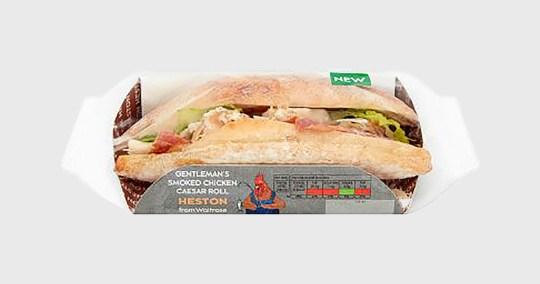 Sexist sandwich picture: Waitrose METROGRAB REF: https://www.waitrose.com/ecom/products/hestons-gentlemans-smoked-chicken-caesar-roll/446040-671662-671663